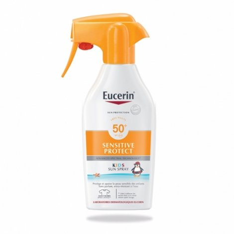 Eucerin Sensitive Protect Kids Sun Spray SPF50 + 300ml pas cher, discount