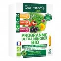 Santarome Bio Programme Ultra Minceur Bio 30 ampoules de 10ml
