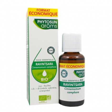 Phytosun Aroms Huile Essentielle Ravintsara Bio Format Economique 30ml pas cher, discount
