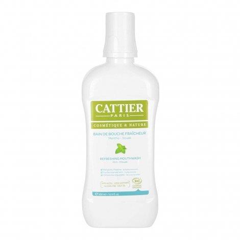 Cattier Bain de Bouche Fraîcheur Menthe - Souak Bio 500ml pas cher, discount