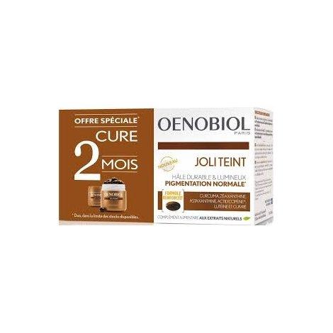 Oenobiol Duo Pack Joli Teint / Autobronzant 2x30 Capsules pas cher, discount