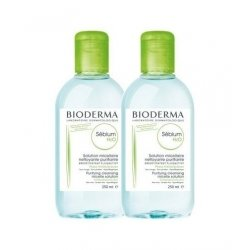 Bioderma Duo Pack Sebium H2O Solution Micellaire 2x250ml