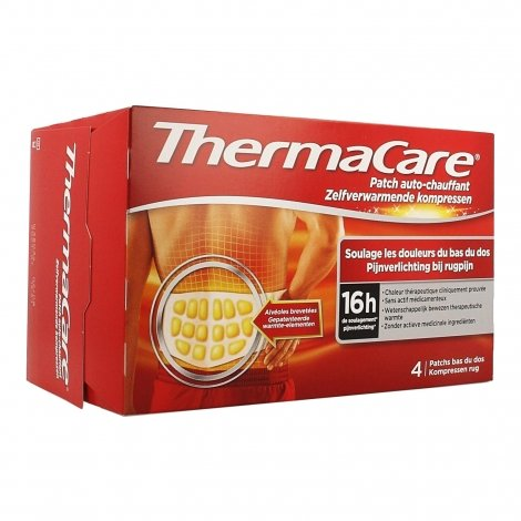 Thermacare Patchs Chauffants Dos 4 patchs pas cher, discount