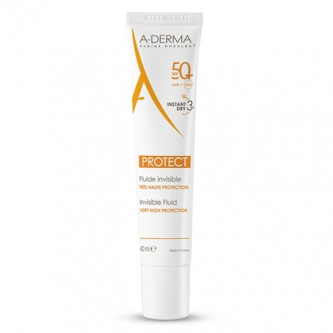 A-Derma Protect Fluide Invisible SPF50+ 40ml pas cher, discount