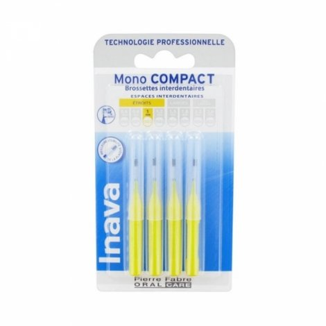 Inava Mono Compact Brossettes Interdentaires 1mm pas cher, discount
