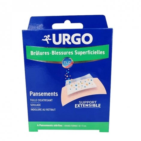 Urgo Pansements Stériles Grand Format x4 pas cher, discount