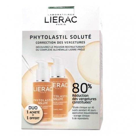 Lierac Phytolastil Soluté Duo Correction Vergetures 1+1 OFFERT 2 x 75ml pas cher, discount