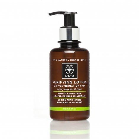 Apivita Cleansing Lotion Tonique Purifiante Peau Grasse/Mixte 200ml pas cher, discount