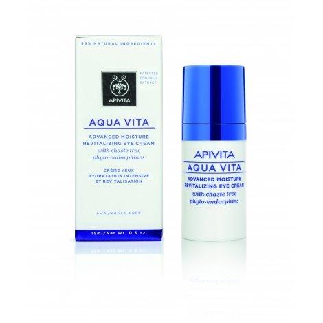 Apivita Aqua Vita Crème Yeux Hydratante Intensive 15ml pas cher, discount