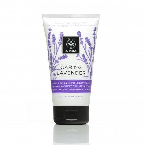 Apivita Caring Lavender Crème Corps Hydratante Apaisante 150ml pas cher, discount