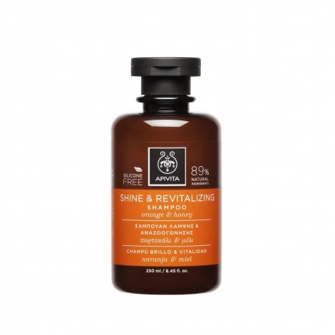 Apivita Shampooing Brillance Revitalisation 250ml pas cher, discount