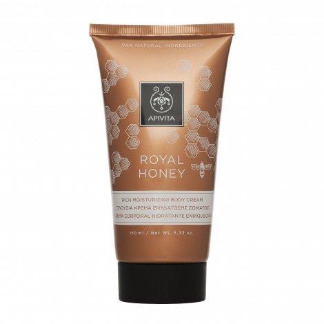 Apivita Royal Honey Crème Corps Hydratante Riche 150ml  pas cher, discount