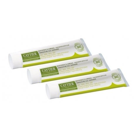Cattier Trio Pack Dentargile Dentifrice Anis 3x75ml pas cher, discount