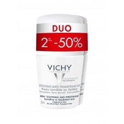 Vichy Déodorant Anti-Transpirant 48H Duo 2 x 50ml