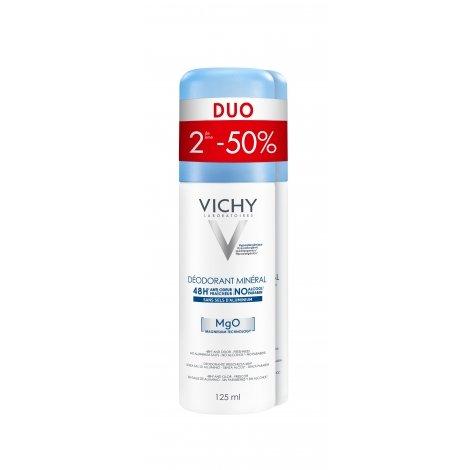 Vichy Déo Minéral 48H Anti-odeur Fraîcheur Duo 2x125ml pas cher, discount