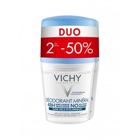 Vichy Duo Déodorant Minéral 2x50ml pas cher, discount