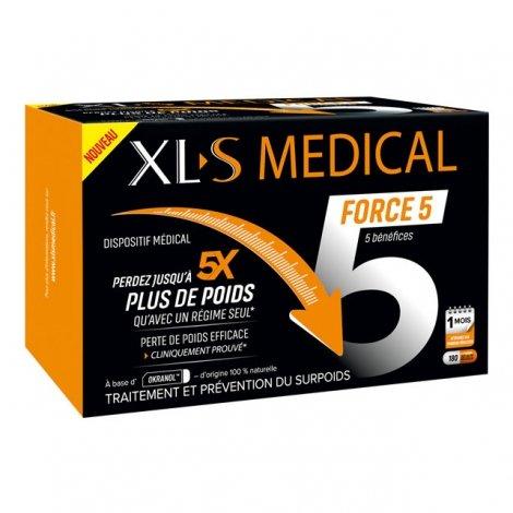 meilleure sélection cad72 c1ef1 XLS Medical Force 5 / Ultra 5 180 gélules : Tous les ...