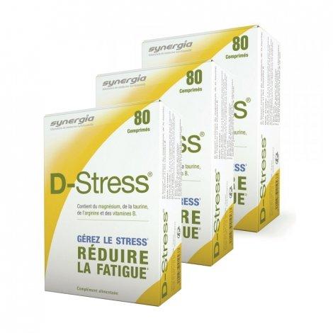 Apotex D-Stress Lot de 3 80 Comprimés pas cher, discount