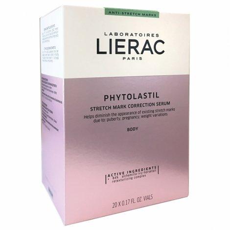 Lierac Phytolastil Sérum Correction Des Vergetures 20 ampoules de 5ml pas cher, discount