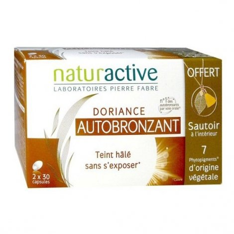 Naturactive Doriance Autobronzant 2x30 Capsules pas cher, discount