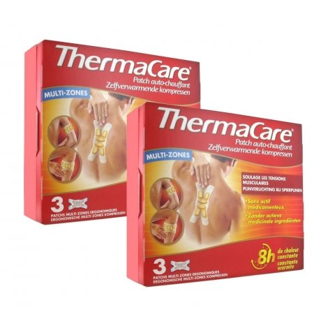 Thermacare Duo Pack Patchs Chauffants Multi-Zones 2x3 patchs pas cher, discount