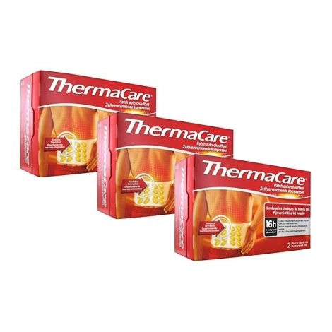 Thermacare Trio Pack Patchs Chauffants Dos 3x2 patchs pas cher, discount