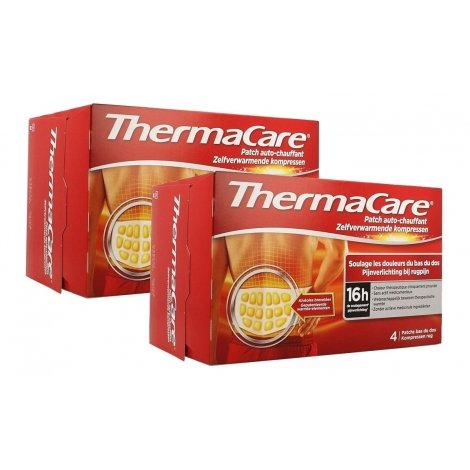 Thermacare Duo Pack Patchs Chauffants Dos 2x4 patchs pas cher, discount