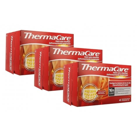 Thermacare Trio Pack Patchs Chauffants Dos 3x4 patchs pas cher, discount
