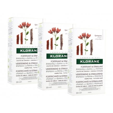 Klorane Trio Pack Shampooing Quinine 3x200ml pas cher, discount