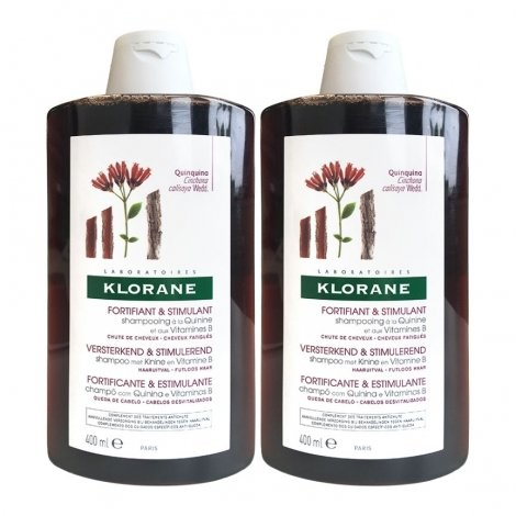 Klorane Duo Pack Shampooing Quinine 2x400ml pas cher, discount