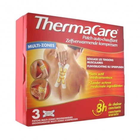 Thermacare Patchs Chauffants Multi-Zones 3 patchs pas cher, discount