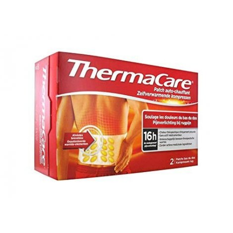 Thermacare Patchs Chauffants Dos 2 patchs pas cher, discount