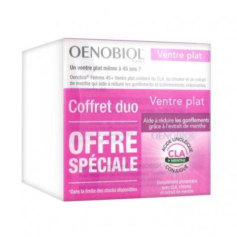 Oenobiol Femme 45+ Ventre Plat Rondeurs Abdominales Lot 2 X 60 Capsules pas cher, discount