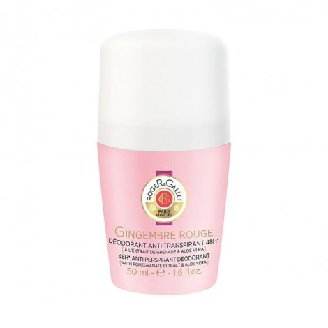 Roger & Gallet Gingembre Rouge Deo Roll-On 50ml pas cher, discount