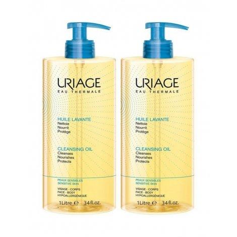 Uriage Duo Pack Huile Lavante Peaux Sensibles 2x1L pas cher, discount