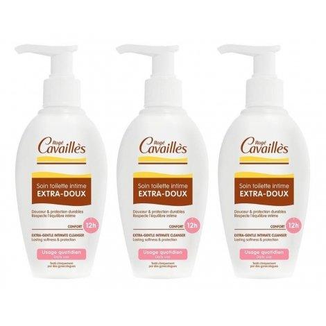 Rogé Cavaillès Trio Pack Soin Toilette Intime Extra-Doux 3x200ml pas cher, discount