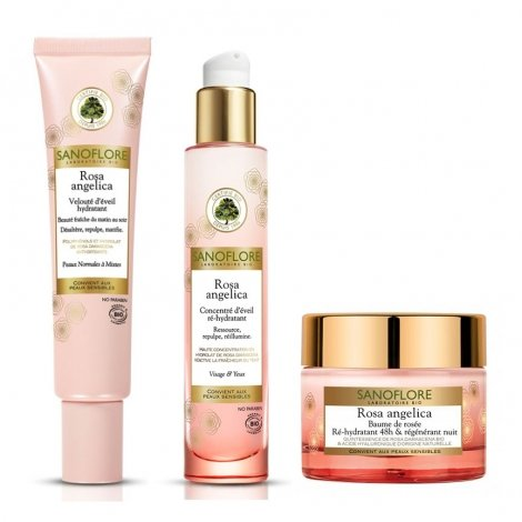 Sanoflore Pack Routine Rosa Angelica Peaux Normales pas cher, discount