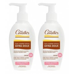 Rogé Cavaillès Duo Pack Soin Toilette Intime Extra-Doux 2x500ml