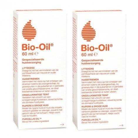 Bio-Oil Soin Spécialisé pour la peau Lot de 2 flacons x 60 ml pas cher, discount