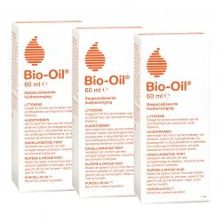 Bio-Oil Soin Spécialisé pour la peau Lot de 3 flacons x 60 ml