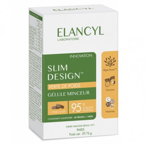 Elancyl Slim Design Perte de Poids 60 gélules pas cher, discount