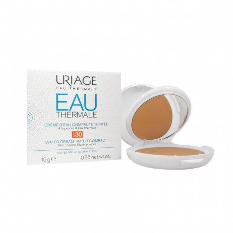 Uriage Eau Thermale Crème d'Eau Compacte Teintée SPF 30 10g pas cher, discount