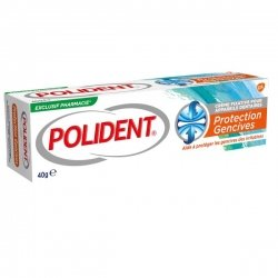 Polident Crème Fixative Protection Gencives Tube 40 g