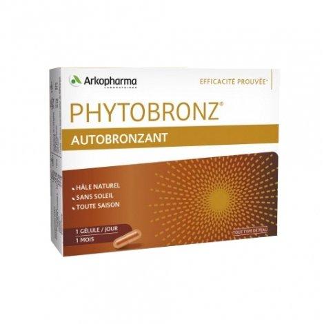 Phytobronz Autobronzant Hâle Naturel 30 gélules pas cher, discount