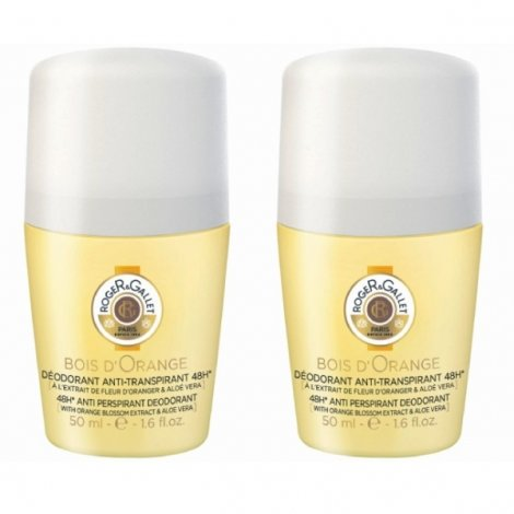Roger & Gallet Duo Pack Bois d'Orange Deo Roll-On 2x50ml pas cher, discount
