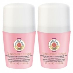 Roger & Gallet Duo Pack Gingembre Rouge Deo Roll-On 2x50ml