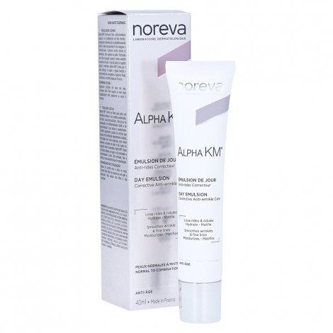 Noreva Alpha Km Crème soin Anti-rides Correcteur Peaux Normales à Mixtes 40ml pas cher, discount