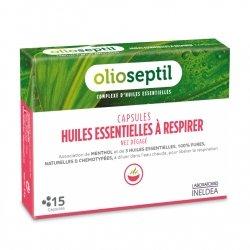 Olioseptil Capsules Huiles Essentielles à Respirer 15 capsules