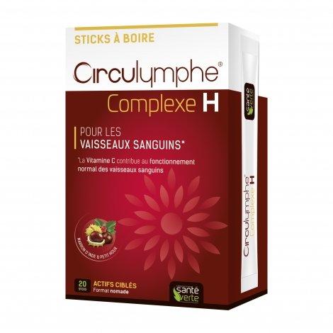 Santé Verte Circulymphe Complexe H 20 sticks pas cher, discount