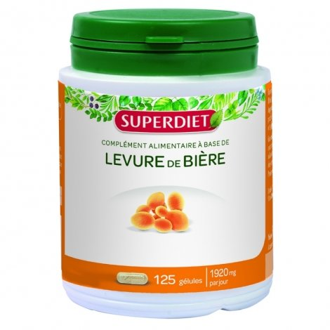 Super diet levure de biere caps 125 pas cher, discount